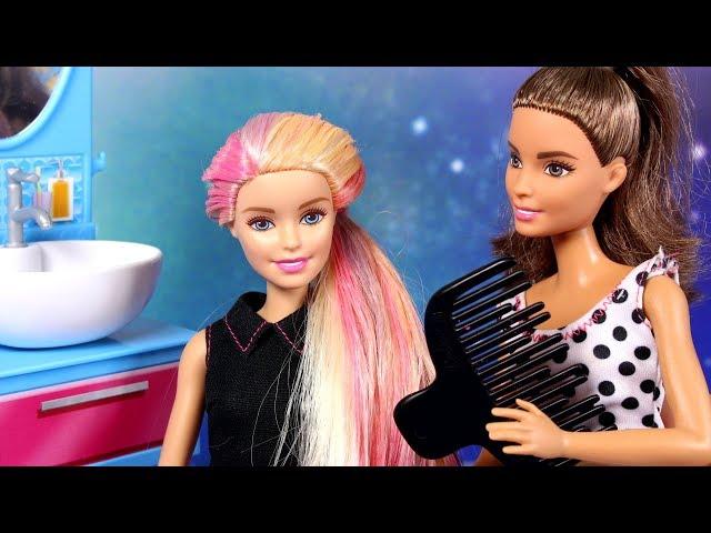 Barbie • Farbowanie włosów • bajka po polsku