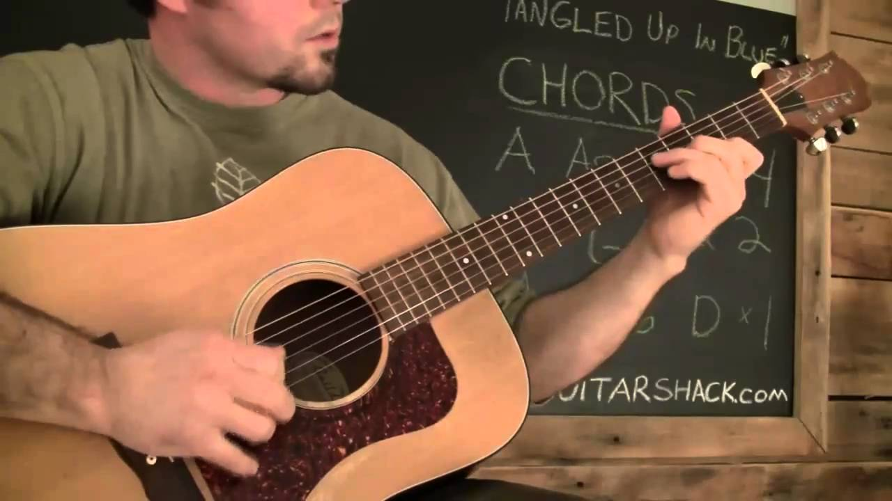 Tangled Up In Blue Guitar Lesson Part 1 Bob Dylan Youtube