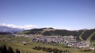 Vidéo AR.Drone 2.0: 2013/08/15 Mont Blanc  Les Saisies