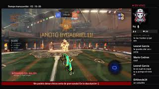 Directo de Rocket League 1 hora jugando Competitivo y 1h jugando con subs: Privadas,Torneos etc...