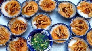 Bánh bèo - Vietnamese Savory Steamed Rice Cake (Water Fern Cake)