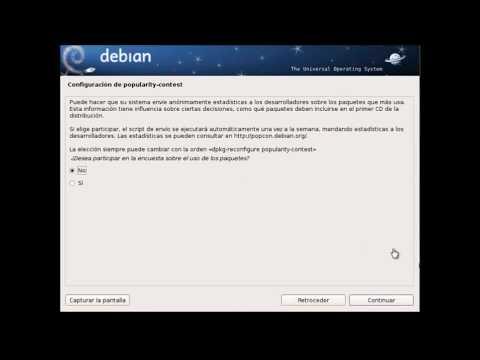 Instalar Windows y Linux Debian en el mismo Disco