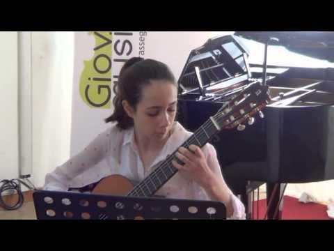 Rebecca Ciommo, chitarra - Giovani Musici 2013