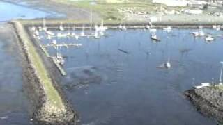 Crescent City, California post tsunami overflight  2