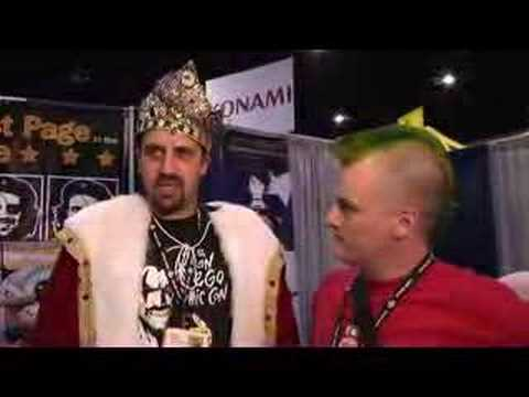 Maddox at Comic-Con 2007 - The Best Page in the Universe