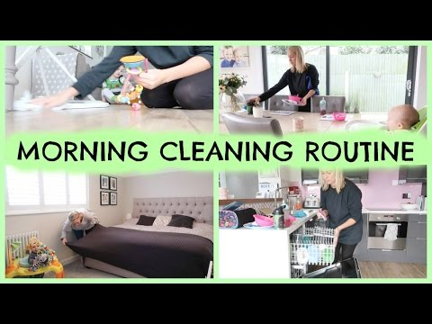 Thumbnail: DAILY MORNING CLEANING ROUTINE OF A MOM / MUM
