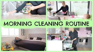 DAILY MORNING CLEANING ROUTINE OF A MOM / MUM