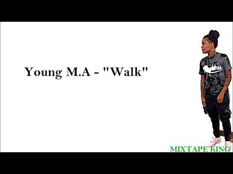 YoungMa walk Lyrics On Screen