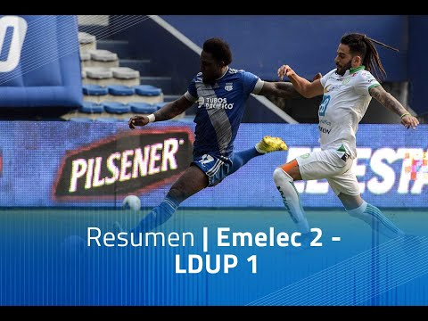 Emelec LDU Portoviejo Goals And Highlights