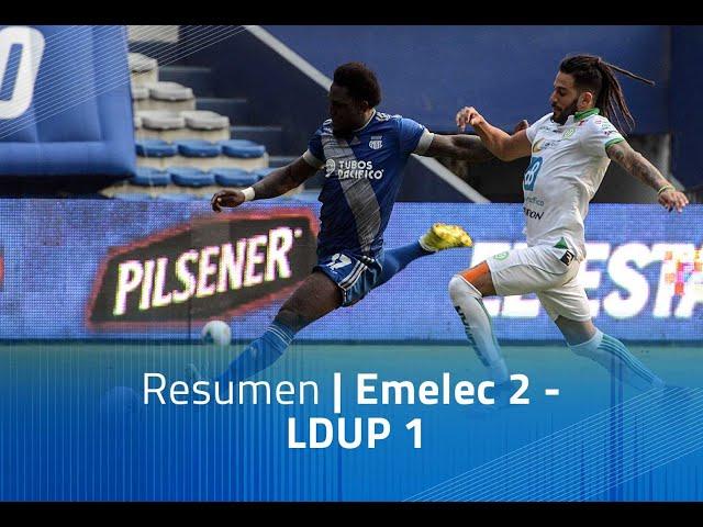Resumen - Emelec 2- LDUP 1
