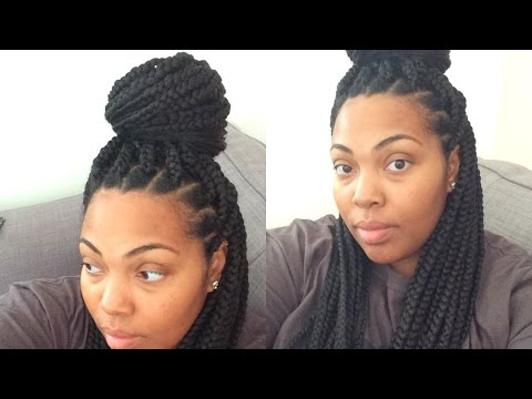 How To Box Braid Your Own Hair and Keep Your Edges