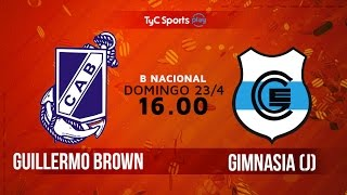 Guillermo Brown vs Gimnasia J full match