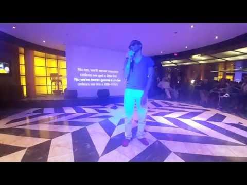 C.Z. Hamilton - Crazy - Live (Karaoke Seal Cover) on MSC Cruises
