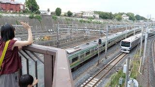 日暮里駅すぐの鉄道ビュースポット 下御隠殿橋に行ってきた Railroad View Spot