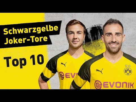Top 10 Borussia Dortmund Super-Subs! Alcácer, Götze and More!