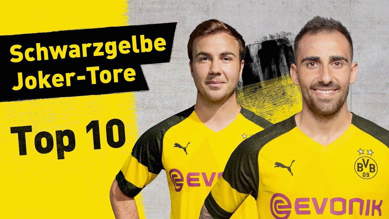 Top 10 Borussia Dortmund Super-Subs! Alcácer, Götze and More!