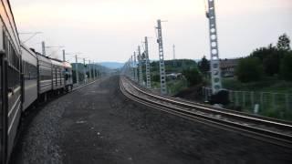 Train 6237 between Sangenhe and Wuchuan 三根河 乌川