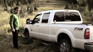 Truck got Stuck- Up in da woods
