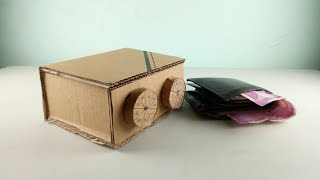 How to make a personal safe locker with cardboard