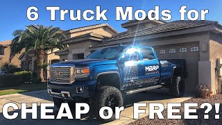 CHEAP or FREE Truck mods!!!