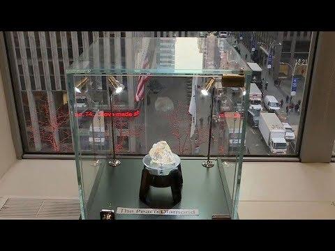 """Peace Diamond"" sells for $6.5M; Sierra Leone promises development from sale"
