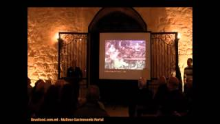 Professor John Varriano Lecture - Food And Wine, Love And Death - Maltese Food Ilovefood Tv