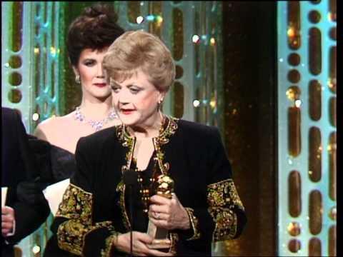 Angela Lansbury Wins Best Actress TV Series Drama - Golden Globes 1985