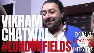 Vikram Chatwal interviewed at the LA Premiere Screening of #LondonFields #NowPlaying