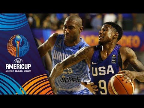 Uruguay v USA - Full Game - FIBA AmeriCup 2017