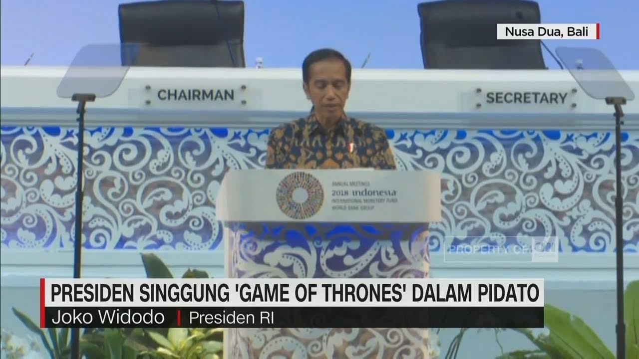 "CNN Update: Presiden Singgung ""Game Of Thrones"" Dalam Pidato I CNN ID"