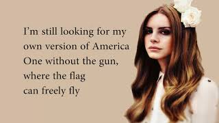 Lana Del Rey - Looking For America - lyrics