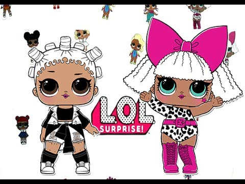 Lol surprise dolls fresh and diva toy review series 1 - Diva lol surprise ...