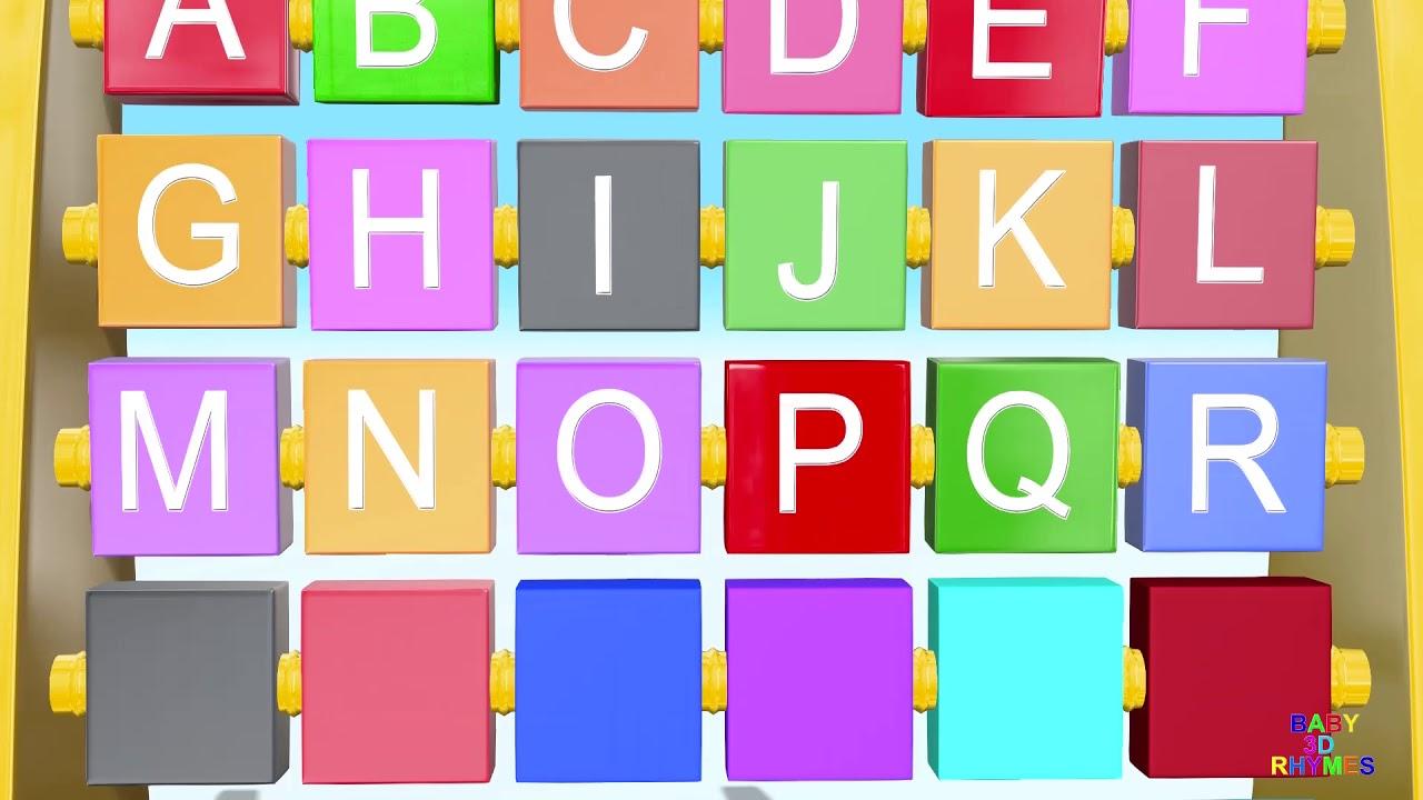 ABC Song ABC Alphabet Songs Nursery Rhymes | Learn Alphabets ABC With Slider Learn Numbers
