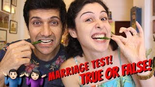 The Marriage Test! True Or False!!! 👫