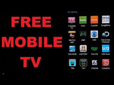 Free Mobile Apps to Watch FREE Cable Mobile TV and Movies