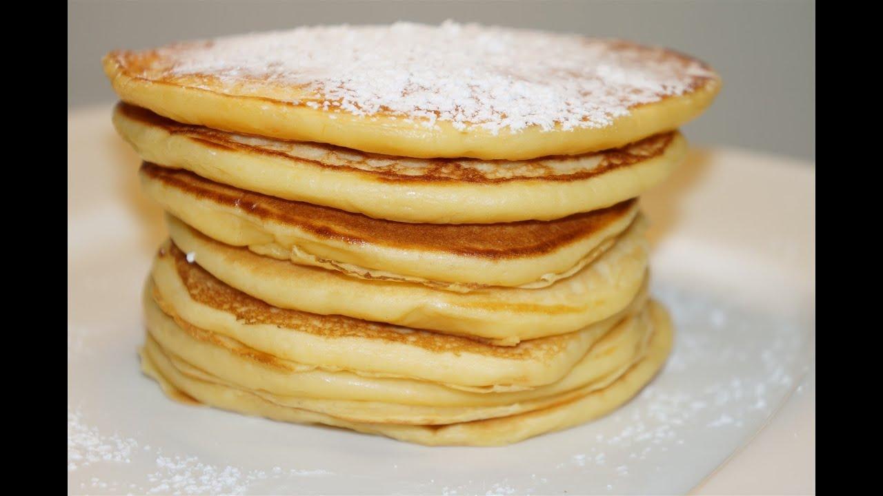 pancakes au yaourt facile ( cuisinerapide) - youtube