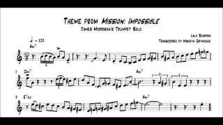 James Morrison - Theme from 'Mission: Impossible' Trumpet Solo