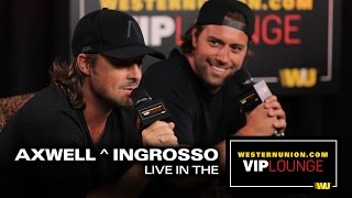 Axwell ^ Ingrosso teases new album and says they want to work with Skrillex and Calvin Harris