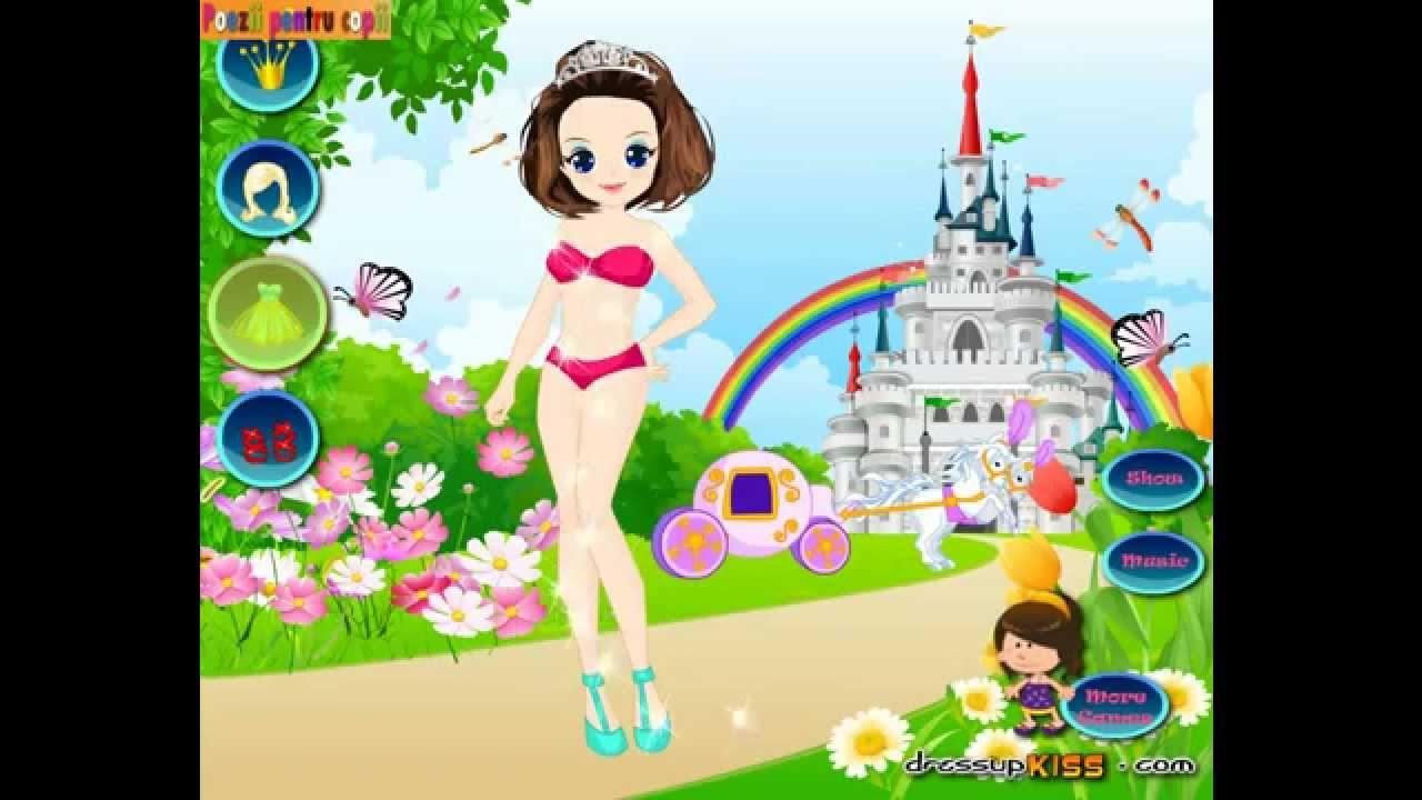 îmbrăcam Prințesa Jocuri De îmbrăcat Coafat încălțat Youtube