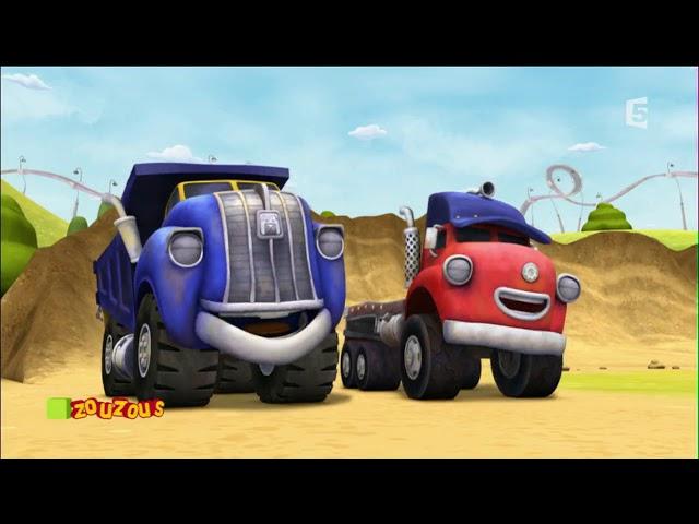 💗Jack et les camions - Les camions cascadeurs💗