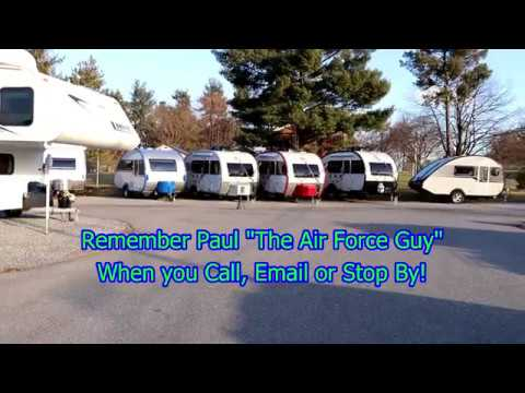 """Part 3 of Which RV is Right for You?  -  Teardrops!   -  W/Paul Chamberlain """"The Air Force Guy"""""""