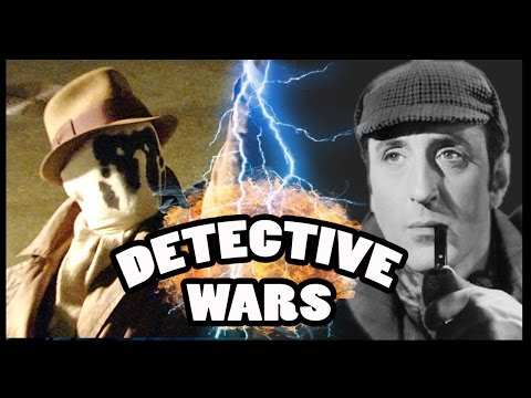 RORSCHACH vs SHERLOCK HOLMES - Detective Wars