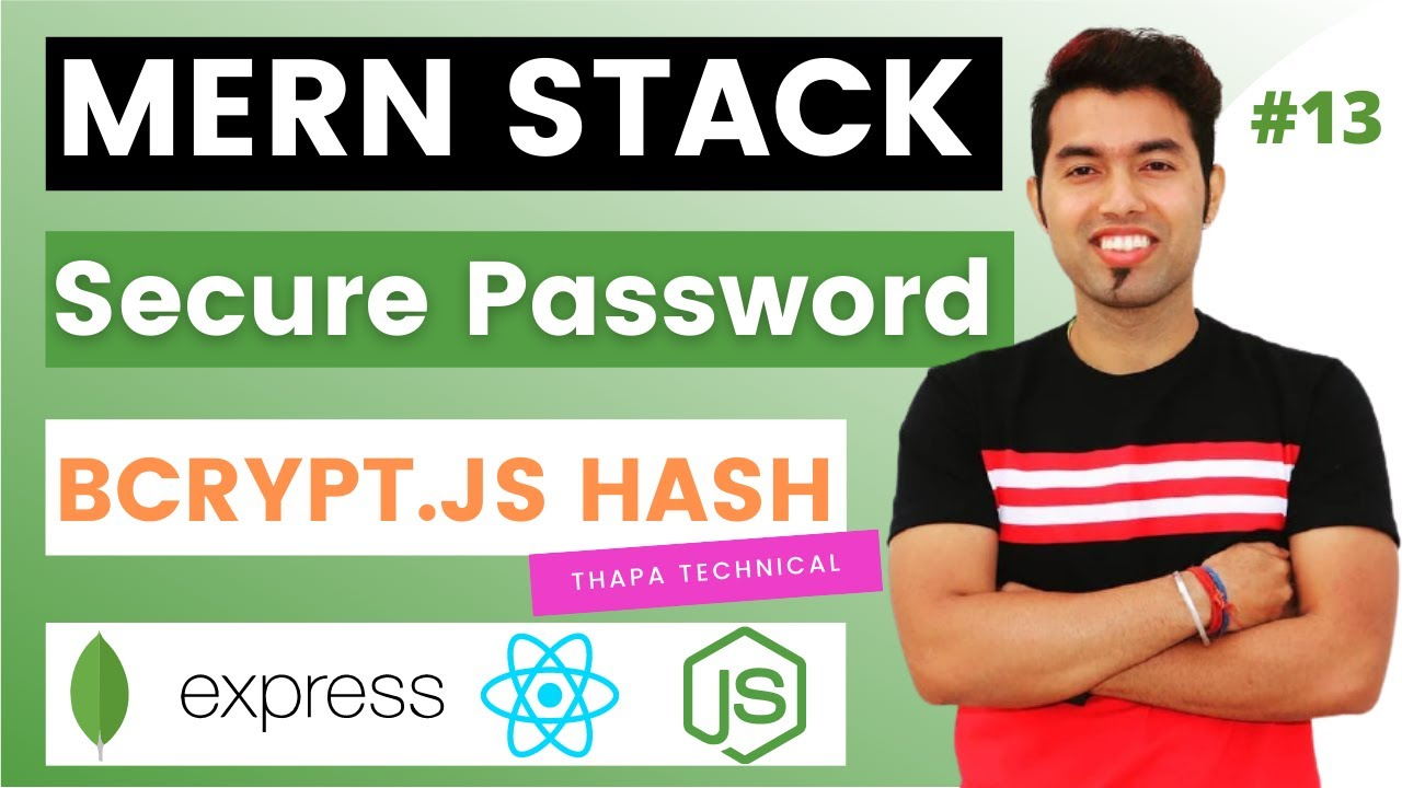 How to Secure Your Passwords? Password Hashing using Bcrypt.JS