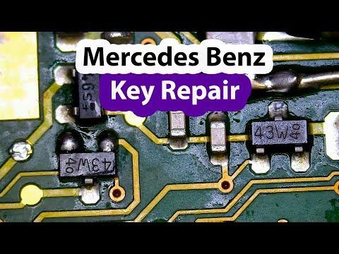 Mercedes Benz Car Key Repair