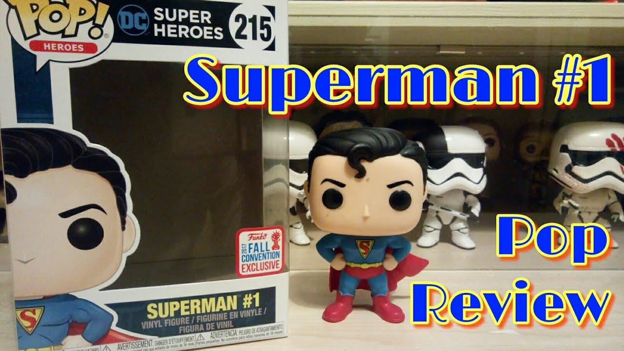 DC Super Heroes Superman #1 Convention Exclusive Funko POP