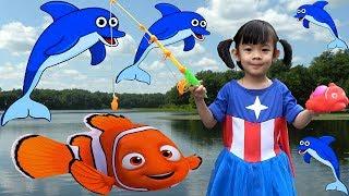 Let's Go Fishing Game Toys For Kids – Bộ Đồ Chơi Câu Cá Cho Bé ❤ AnAn ToysReview TV ❤