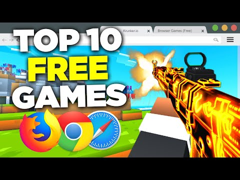 TOP 10 Browser FPS GAMES (NO DOWNLOAD)