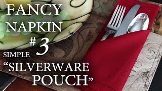 Fancy Napkin #3 - Simple