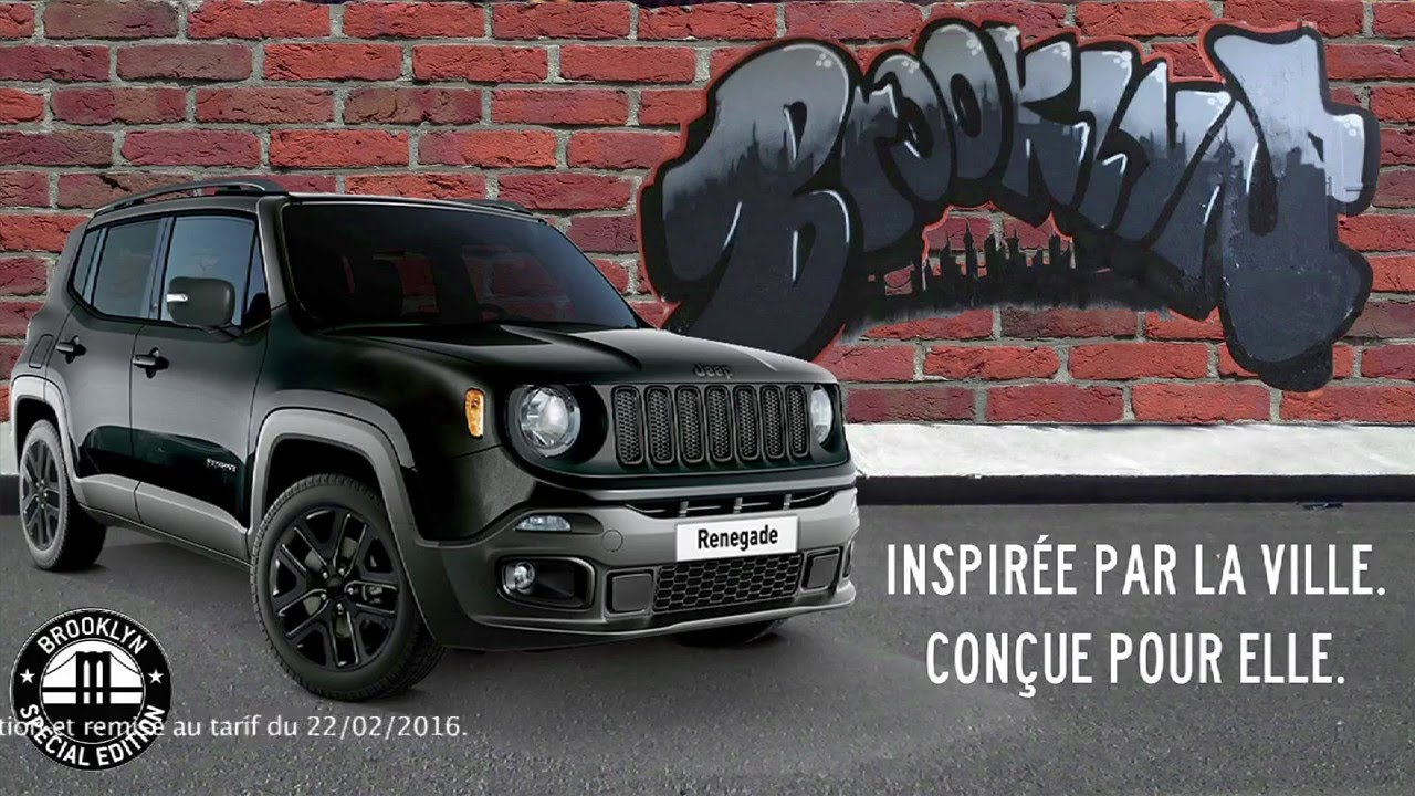 jeep renegade brooklyn challenge de la pub 2016 youtube. Black Bedroom Furniture Sets. Home Design Ideas