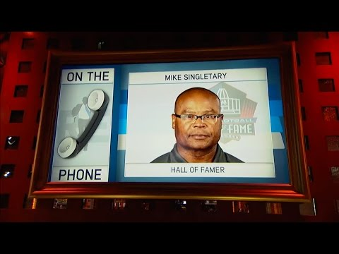 Pro Football HOFer Mike Singletary Discusses Debut of